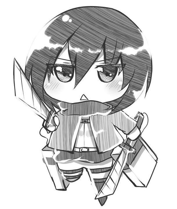 Mikasa  Shingeki no Ky...