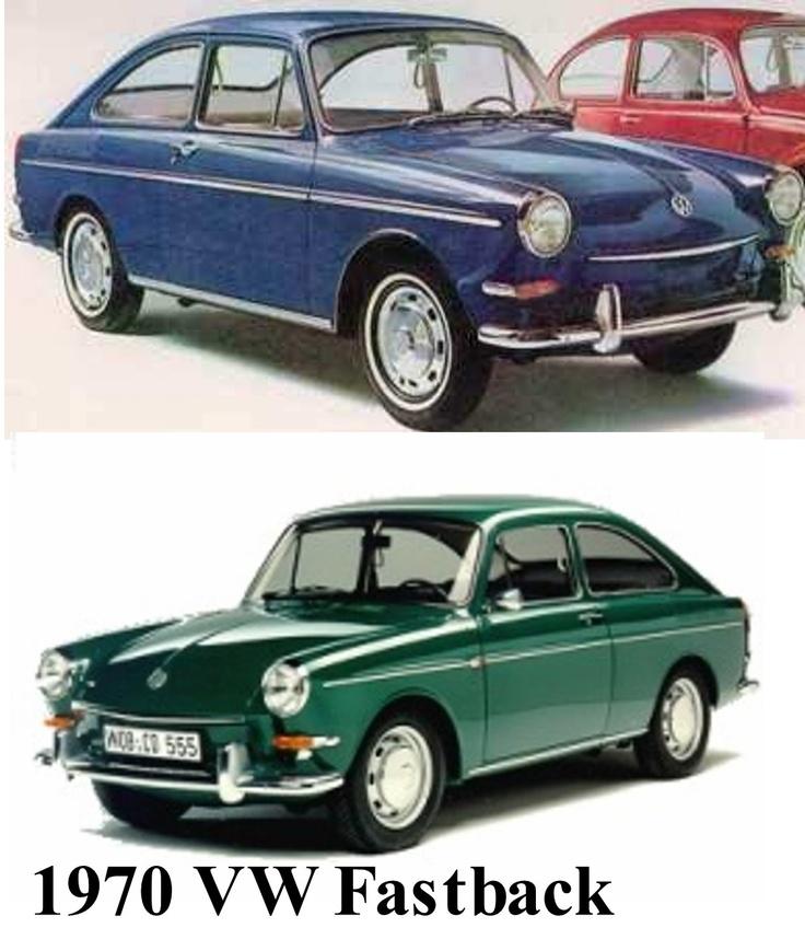 Volkswagen Fastback For Sale: 1970 VW Fastback
