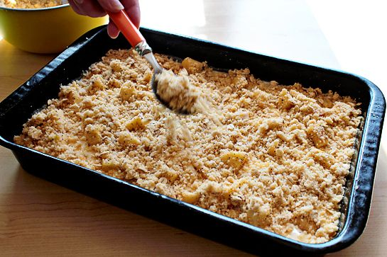 Caramel apple cheesecake cookie bars recipe with step by step pictures ...