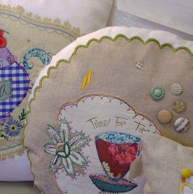 Подушки по priscillajones, через Flickr