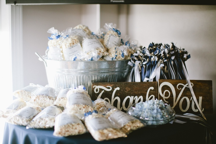 Wedding Favors By Tastebuds Popcorn