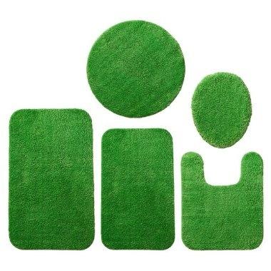 green bath rugs bringing this home