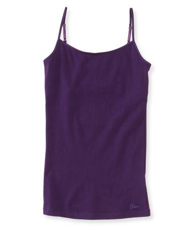 Solid Basic Cami - Aeropostale, purple