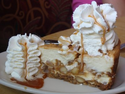 ... nut cheesecake at grand lux cafe chocolate caramel nut cheesecake