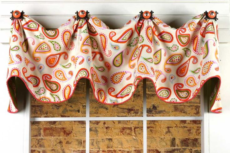 Mims curtain valance sewing pattern tr kitchen pinterest