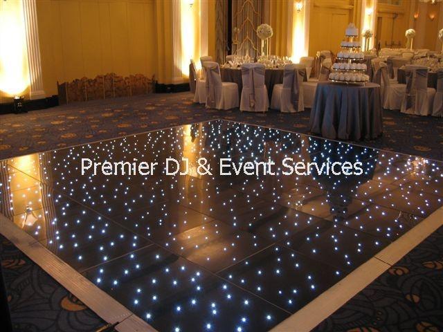 Dance floor sizes wedding bits pieces pinterest for Wedding dance floor size