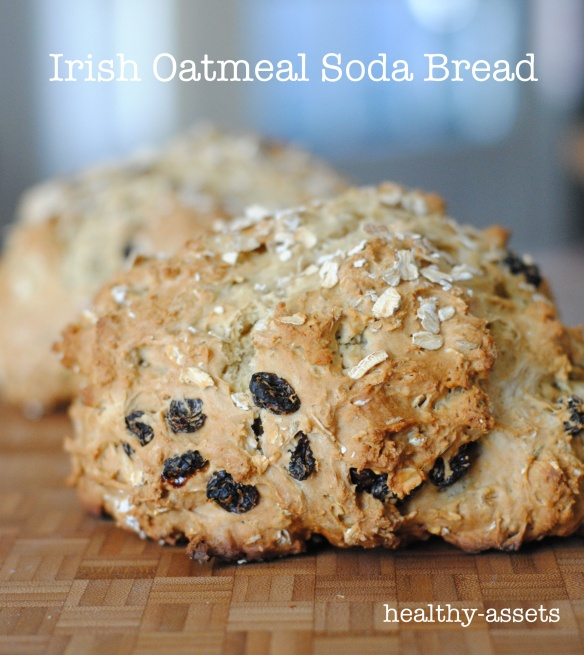 Irish Oatmeal Soda Bread | Baking | Pinterest