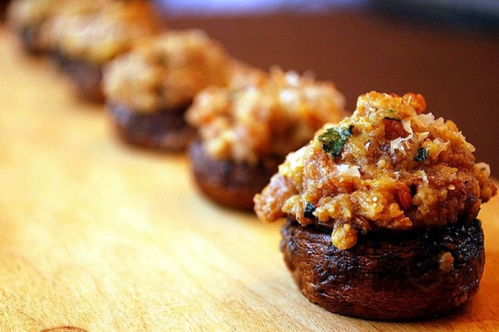 Sausage-Stuffed Mushrooms III Recipe | Food: Appetizers/ Snacks | Pin ...