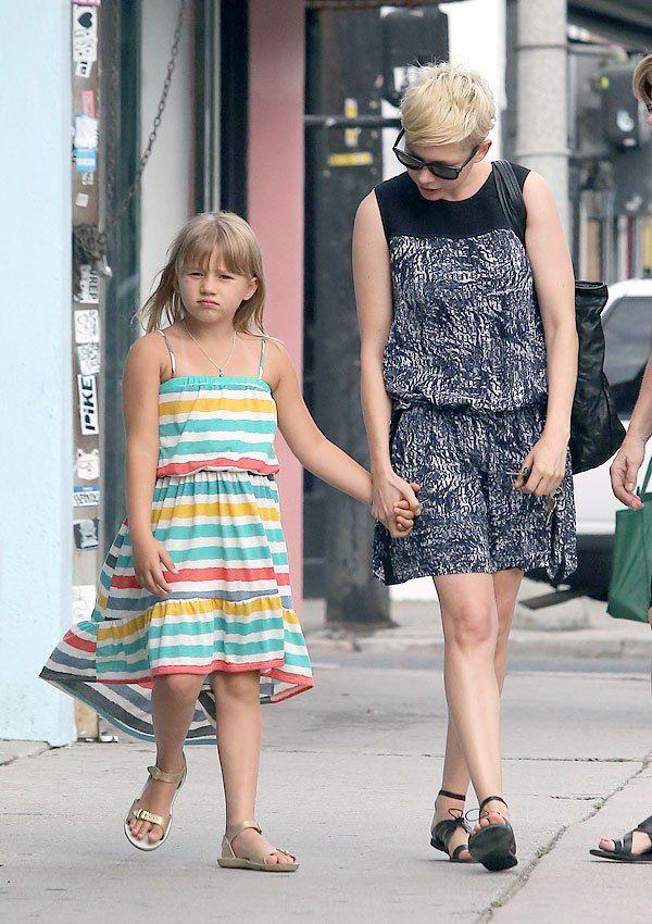 Michelle and Matilda Ledger