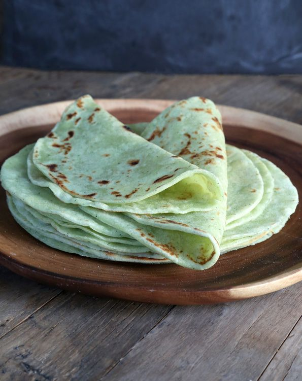 Gluten Free Zucchini Flour Tortillas | Rockin' Recipes | Pinterest