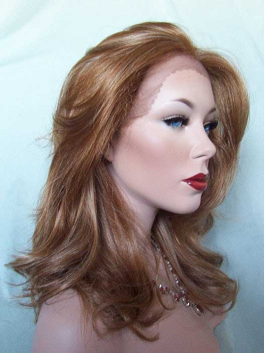 Good strawberry blonde over pale blonde highlights. Can a wig color be ...