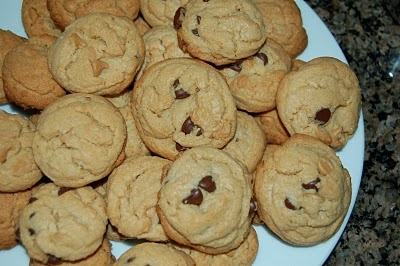 Mag-Pie's & more: Double Peanut Butter Chocolate Chip Cookies