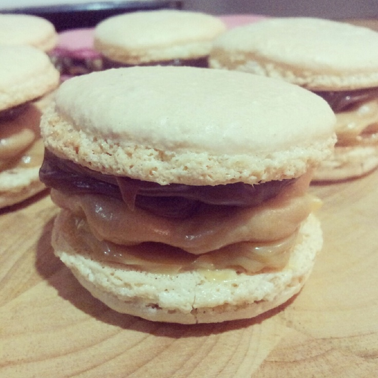My Snickers Macarons | Favourite Recipes - Tried and Tested | Pintere ...