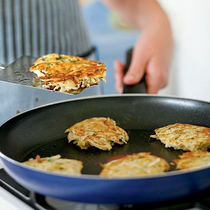 Basic Potato Latkes by Cooking Light   Appetizers   Pinterest