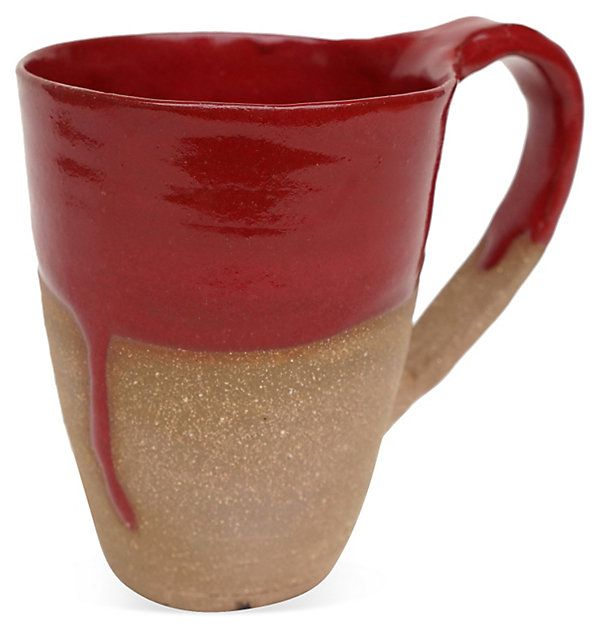 Red Latte Cup