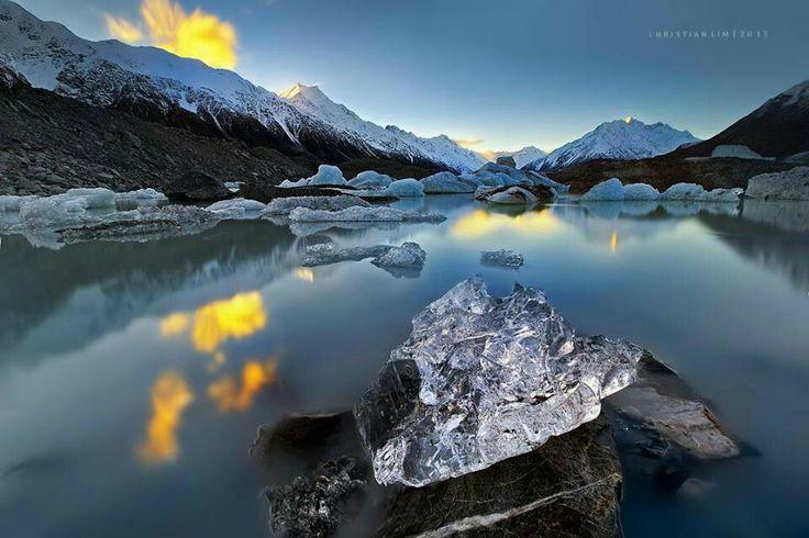 Lake Tasman | New Zealand | Pinterest