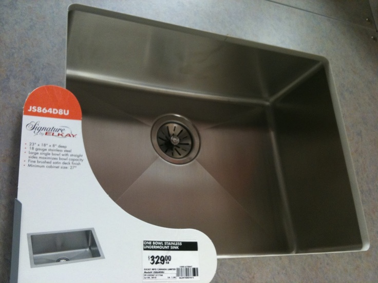 Laundry Room Undermount Sinks : Elkay undermount sink for laundry room Its in the details Pinter ...