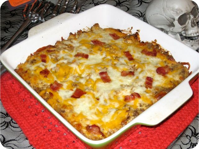 Us gf bacon and Worcestershire sauce! Bacon Double Cheeseburger Dip