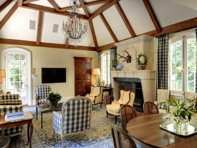 Keeping room ginny magher cozy elegant living rooms - Cozy elegant living rooms ...