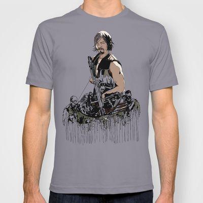 Daryl Dixon T-shirt by Huebucket - $22.00