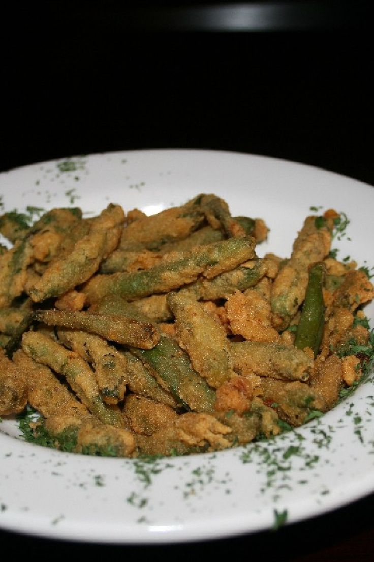 Fried Green Beans #Recipe | food that makes my stomach grumble :) | P ...
