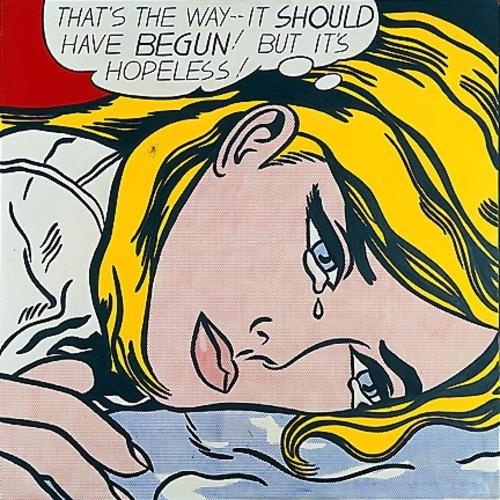 Roy Lichtenstein - Hopeless - 1963