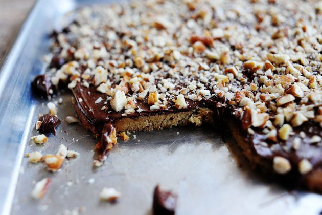 Cleta Bailey's Toffee Squares. could make with peanuts instead of ...