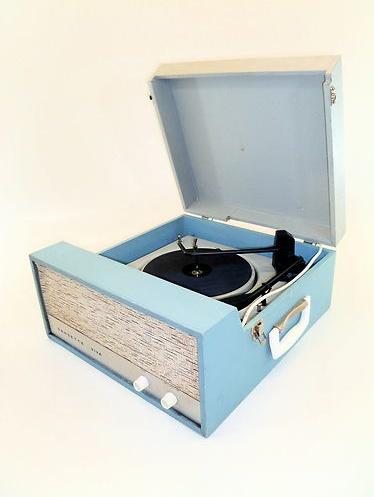 Portable 60 39 S Record Player Iold Music Players Pinterest