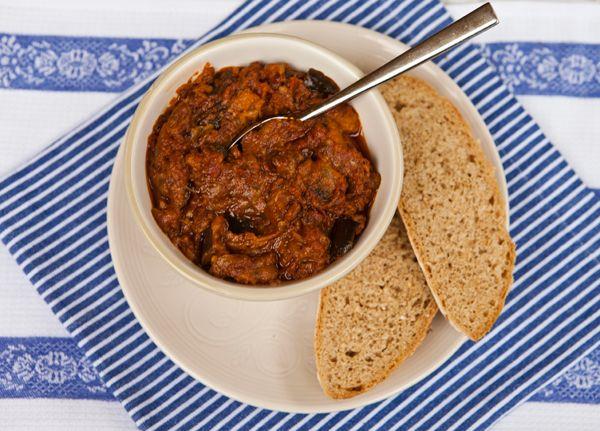 Italian Food Forever » Roasted Eggplant & Sun-Dried Tomato Spread