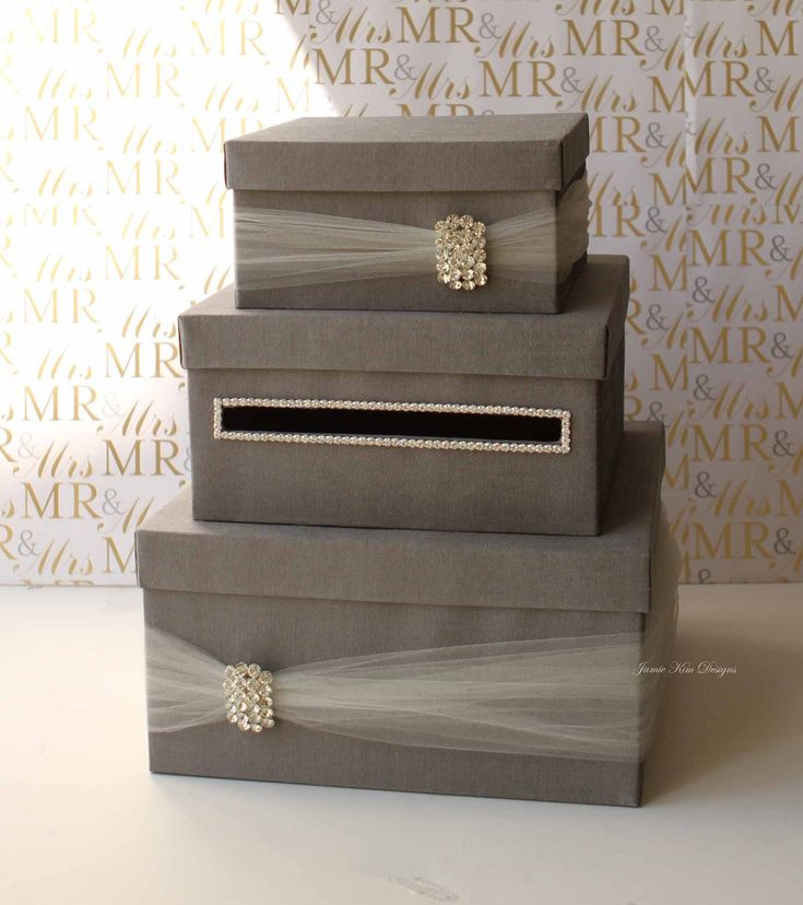 Wedding Gift Box Pinterest : Wedding Card Box Money Box Wedding Gift Card Money Box - Custom Made ...
