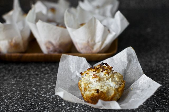 double coconut muffins | Baked | Pinterest