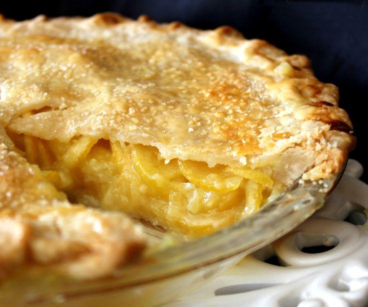 Shaker Lemon Pie Recipe — Dishmaps