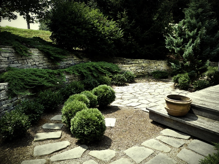 pea gravel definitely looks nice  Backyard Ideas  Pinterest