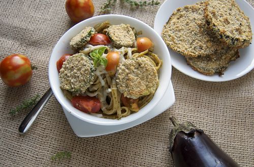 ... chives basil garlic lemon juice almonds black pepper salt olive oil