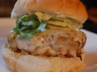 Cassie Craves: Burger and Fries Friday: Salsa Verde Turkey Burgers