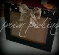 primitive photo frames
