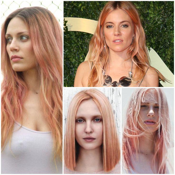 Rose Gold Color Rose Gold Hair Color