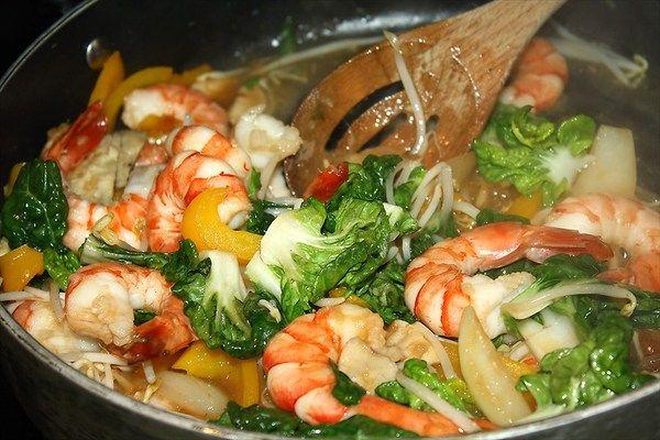 Spicy Shrimp Stir-Fry | Dang Good Recipes | Pinterest