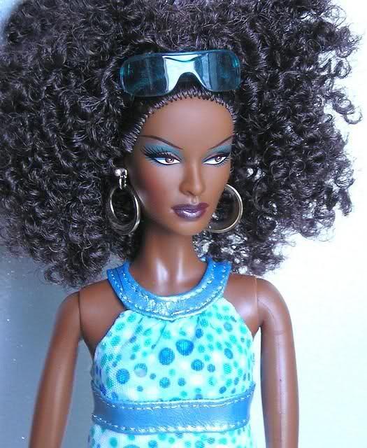 Black Barbie with curly hair!!! :) | BLACK BARBIE | Pinterest