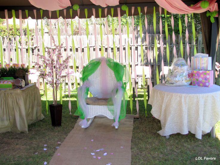 Pin by olivia fogle on skylar pinterest for Backyard baby shower decoration