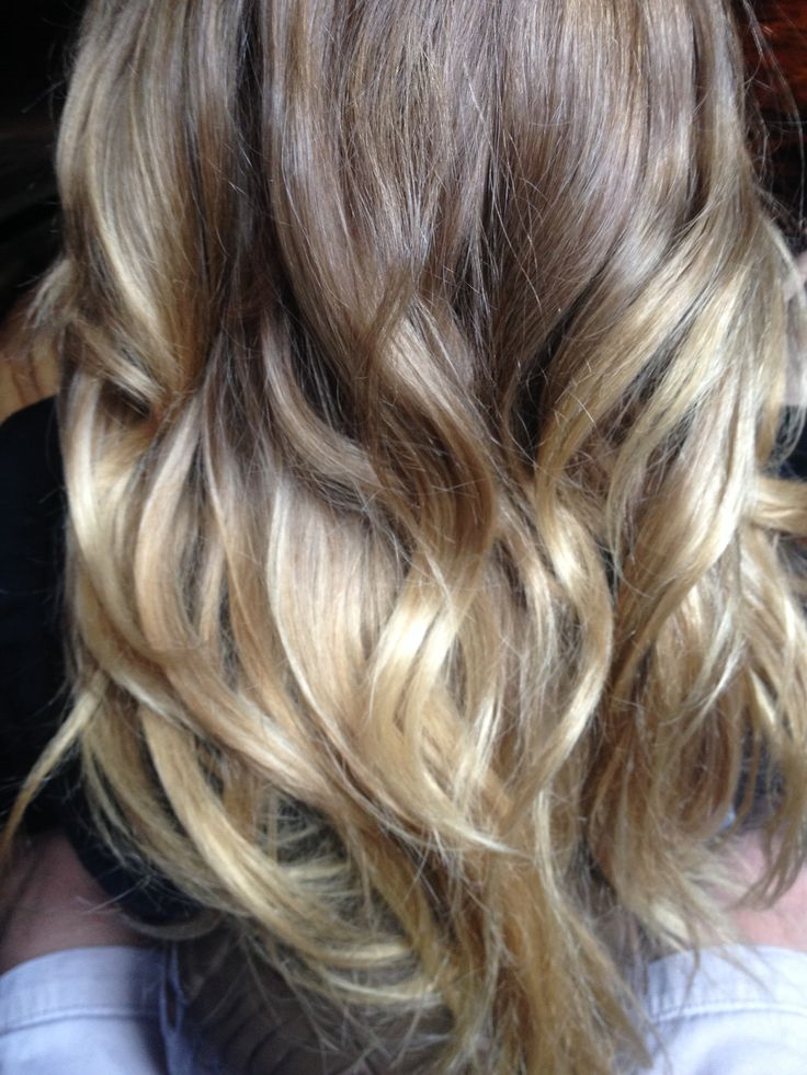 Brown Blonde Ombr 233 Hair Amp Beauty Pinterest