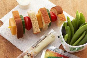 Sandwich-on-a-Stick recipe - fun idea for the kids lunch!