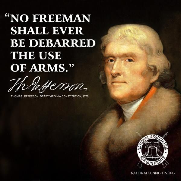 Second amendment quotes thomas jefferson quotesgram Thomas jefferson quotes