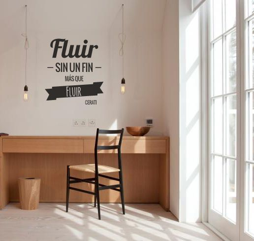 Frase de cerati para tu pared vinilo para paredes pinterest for Oferta vinilos pared