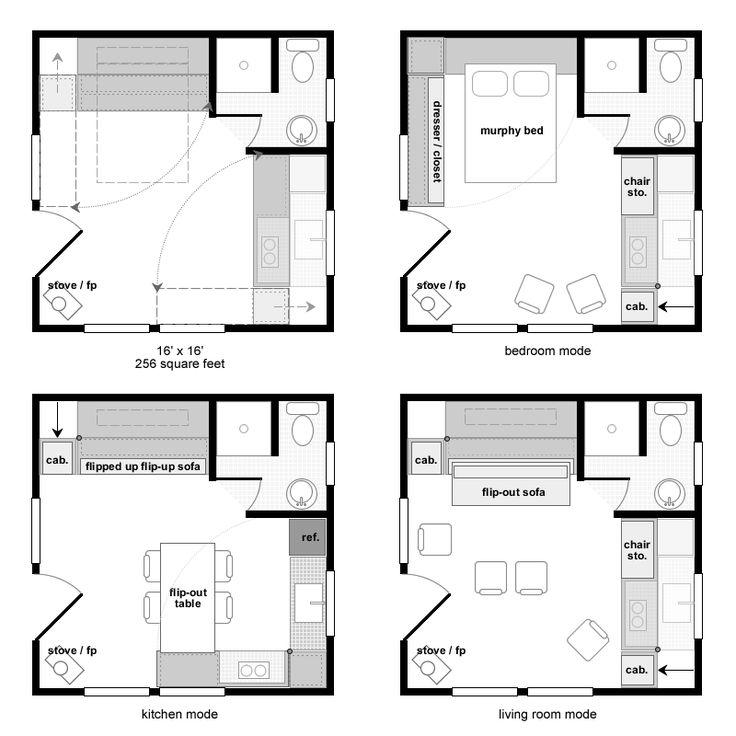 Bathroom blueprint