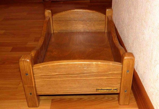 Своими руками деревянная кроватка для кукол
