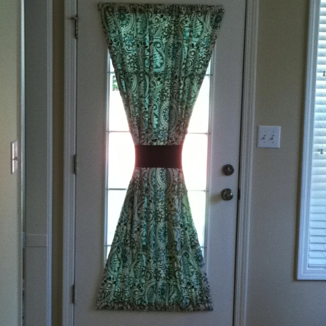 kitchen door curtain good ideas pinterest