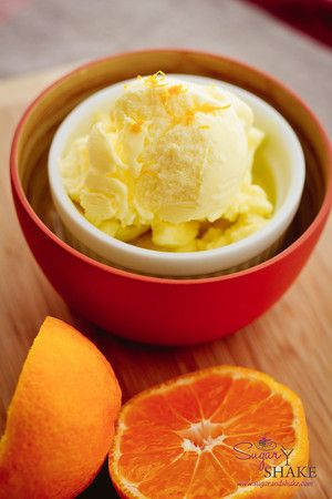Blood Orange Olive Oil Ice Cream from @Nathalie Montecchi Bearden ...