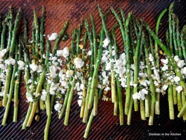roasted-asparagus-gremolata | Veggies | Pinterest