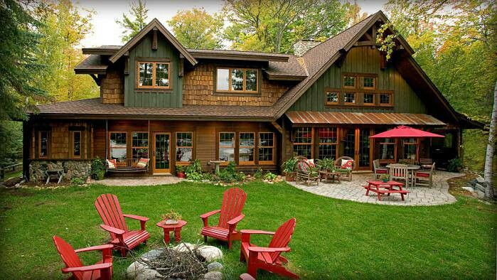 Cabin Home Beautiful Homes And Barns Pinterest